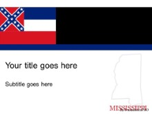 Download mississippi PowerPoint Template and other software plugins for Microsoft PowerPoint