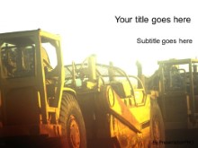 Download tractor glow PowerPoint Template and other software plugins for Microsoft PowerPoint