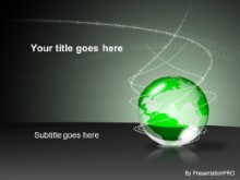 Download bin globe green PowerPoint Template and other software plugins for Microsoft PowerPoint