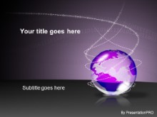 Download bin globe purple PowerPoint Template and other software plugins for Microsoft PowerPoint
