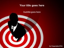 Download bullseye red PowerPoint Template and other software plugins for Microsoft PowerPoint