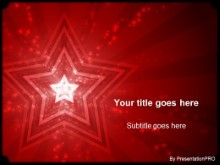 Download stars red PowerPoint Template and other software plugins for Microsoft PowerPoint
