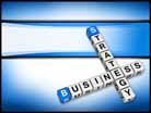 Business Strategy Crossword PPT PowerPoint Template Background
