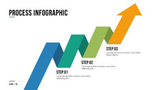 Arrows Presentation PowerPoint Infographics