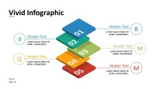 3 Dimensional Presentation PowerPoint Infographics
