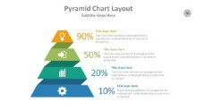 PowerPoint Infographic - Pyramid Chart Layout
