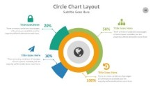 PowerPoint Infographic - Circle Chart Layout