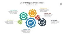 PowerPoint Infographic - Gear Infographic Layout