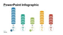 PowerPoint Infographic - Coins Percentages