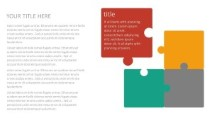 PowerPoint Infographic - Puzzle