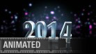 2014 Celebration Widescreen PPT PowerPoint Animated Template Background