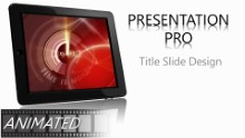 TIME IS MONEY C Widescreen PPT PowerPoint Animated Template Background