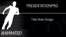 Animated Raising The Pulse Widescreen PPT PowerPoint Animated Template Background