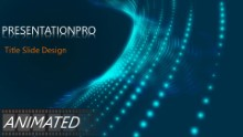 Abstract 0991 Widescreen PPT PowerPoint Animated Template Background
