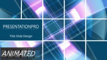 Animated Abstract 0068 Widescreen PPT PowerPoint Animated Template Background