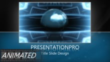 Animated Global 0007 Widescreen PPT PowerPoint Animated Template Background