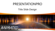 Animated Global Digital 121B Widescreen PPT PowerPoint Animated Template Background