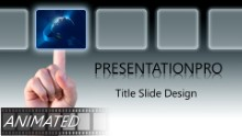 Animated Global Selection B Widescreen PPT PowerPoint Animated Template Background