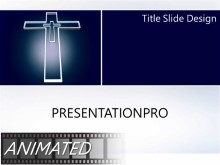 Animated Religious 163 Widescreen PPT PowerPoint Animated Template Background
