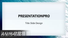 Download animated water flowing widescreen PowerPoint Widescreen Template and other software plugins for Microsoft PowerPoint