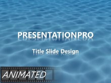 Download animated water waves widescreen PowerPoint Widescreen Template and other software plugins for Microsoft PowerPoint