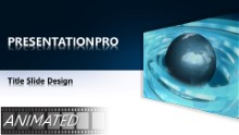 Animated Widescreen Global 0001 2 PPT PowerPoint Animated Template Background