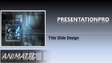 Animated Widescreen Tech 0005 PPT PowerPoint Animated Template Background