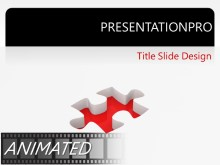 Download rotating puzzle solution Animated PowerPoint Template and other software plugins for Microsoft PowerPoint