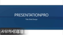 Flowing Abstract Widescreen PPT PowerPoint Animated Template Background