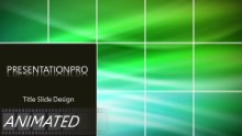 Green Abstract 0005 Widescreen PPT PowerPoint Animated Template Background