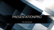Moving Squares Widescreen PPT PowerPoint Animated Template Background