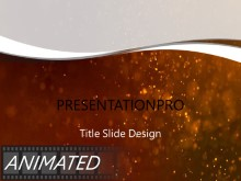 Red Textured Dust PPT PowerPoint Animated Template Background