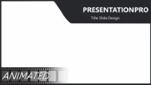 Animated Team In Motion B Widescreen PPT PowerPoint Animated Template Background