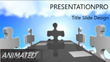 Cloud Solution Widescreen PPT PowerPoint Animated Template Background