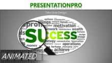 Success Inspections Widescreen PPT PowerPoint Animated Template Background