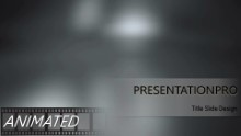 The Solution Widescreen PPT PowerPoint Animated Template Background