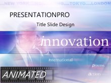 Download innovation Animated PowerPoint Template and other software plugins for Microsoft PowerPoint