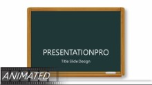 Back To School Kids Widescreen PPT PowerPoint Animated Template Background