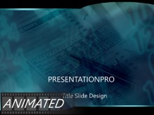 Download blue graph Animated PowerPoint Template and other software plugins for Microsoft PowerPoint