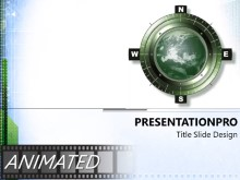 Download compass Animated PowerPoint Template and other software plugins for Microsoft PowerPoint