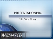 Download quarter globe Animated PowerPoint Template and other software plugins for Microsoft PowerPoint