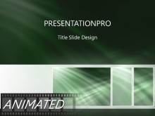 Animated Crossing Heavy Tribox Light PPT PowerPoint Animated Template Background
