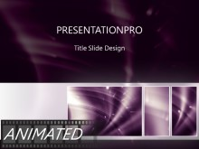 Animated Dense Light Tribox Light PPT PowerPoint Animated Template Background