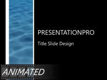 Animated Flowing Water PPT PowerPoint Animated Template Background