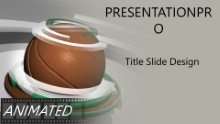 Basketball 0908 B Widescreen PPT PowerPoint Animated Template Background