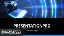 Beaming Global Data B Widescreen PPT PowerPoint Animated Template Background