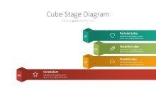 PowerPoint Infographic - 010 Chain Cube Stages 4