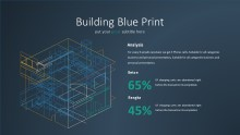 PowerPoint Infographic - 022 Building Blue Print