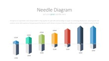 PowerPoint Infographic - 028 Needle Diagram