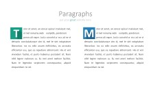 PowerPoint Infographic - 038 Flat Paragraphs